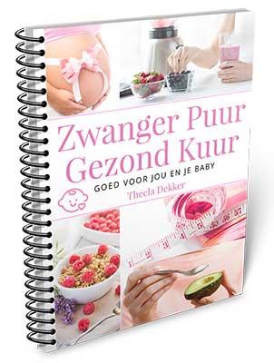 Cover Zwanger Puur Gezond Kuur printversie
